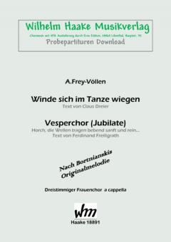 Vesperchor (Jubilate)  (Frauenchor 3st)