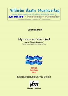 Hymnus auf das Lied (Männerchor 3st)