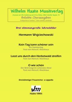 Stimmungsvolle Jahresbilder (Frauenchor 3st)