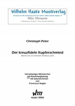 Der kreuzfidele Kupferschmied (Männerchor)