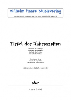 Zirkel der Jahreszeiten (Männerchor)