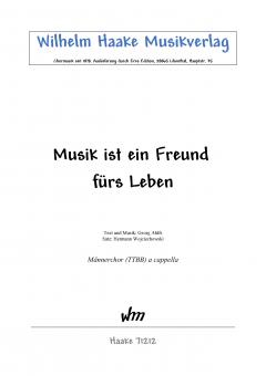 Musik ist ein Freund für´s Leben (MChor)