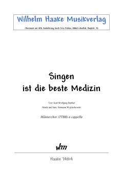 Singen ist die beste Medizin (Männerchor)