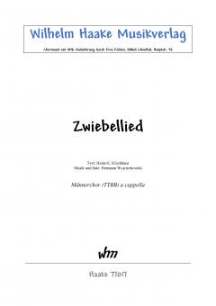 Zwiebellied (Männerchor)