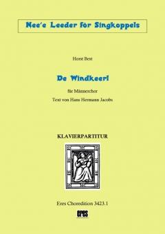 De Windkeerl (Männerchor-Klavierpartitur)