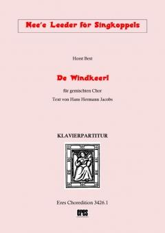 De Windkeerl (gemischter Chor-Klavierpartitur)