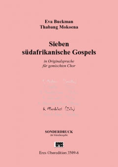 Mlondolozi (mixed choir SATB)
