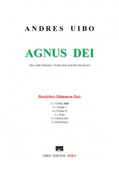 Agnus Dei (string parts)