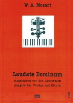 Laudate Dominum (Violine, Klavier)