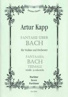 Fantasy Upon BACH (orchestra) 111