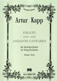 Fugato and Andante cantabile (String Orchestra)