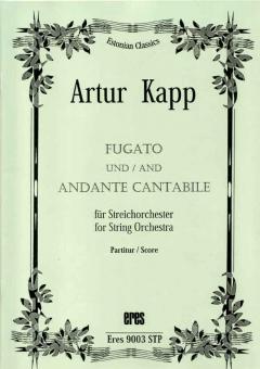 Fugato und Andante cantabile (Streichorchester)