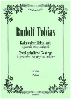Zwei geistliche Gesänge (Chor, Orgel, Orchester)
