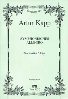 Symphonic Allegro (orchestra/score)