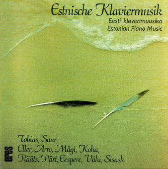 Estonian Piano Music (CD)
