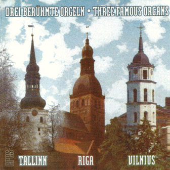 Three Famous Organs (CD)