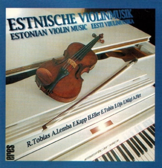 Estonian Violin Music (CD)
