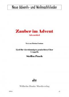 Zauber im Advent (gemischter Chor)