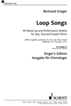 Loop Songs (Chorpartitur)
