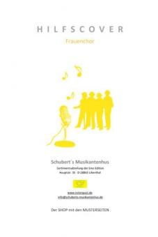 Verlieben, Verloren, Vergessen, Verzeih'n (Frauenchor-Klavierpartitur)
