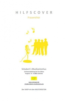 Over the rainbow (Frauenchor 3st-Klavierpartitur)
