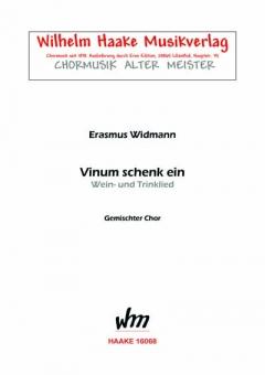 Vinum schenk ein (gemischter Chor)