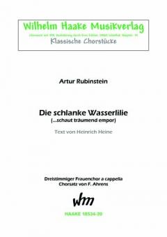 Die schlanke Wasserlilie (Frauenchor 3st)