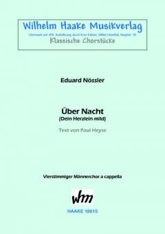 Über Nacht (Männerchor)