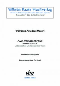Ave, verum corpus (Männerchor)