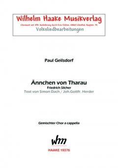 Ännchen von Tharau (gemischter Chor)