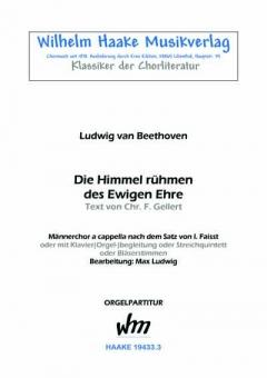 Die Himmel rühmen... (Männerchor-Orgelpart..)