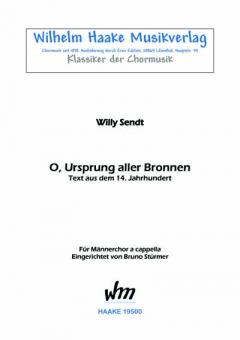 O, Ursprung aller Bronnen (Männerchor)