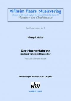 Der Hocherfahr´ne (Männerchor)