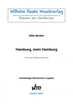 Hamburg, mein Hamburg (Männerchor)