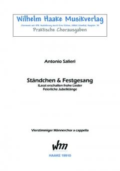 Ständchen / Festgesang (Männerchor)