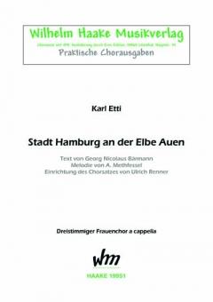 Stadt Hamburg an der Elbe Auen (Frauenchor 3st)