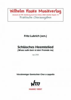 Schläsches Heemtelied (gemischter Chor)