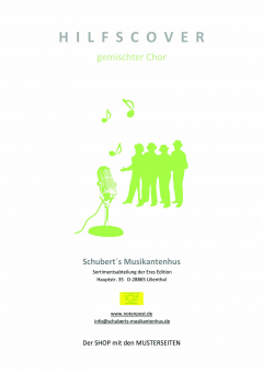 Thank you for the music (gemischter Chor 3st.-Klavierpartitur)