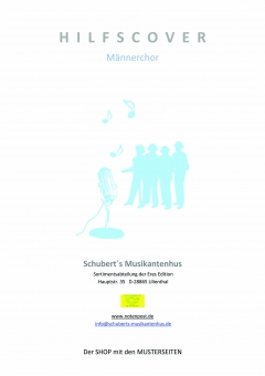 Heimatlos (Männerchor 3st Klavierpartitur)