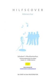 König von Deutschland (Männerchor-Klavierpartitur)
