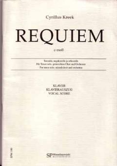 Requiem c-moll Klavierauszug