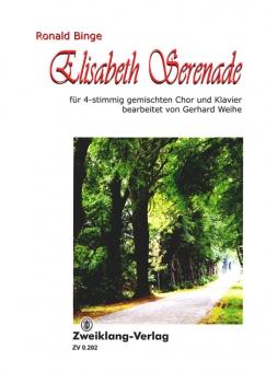 Elisabeth-Serenade (gem. Chorpartitur)