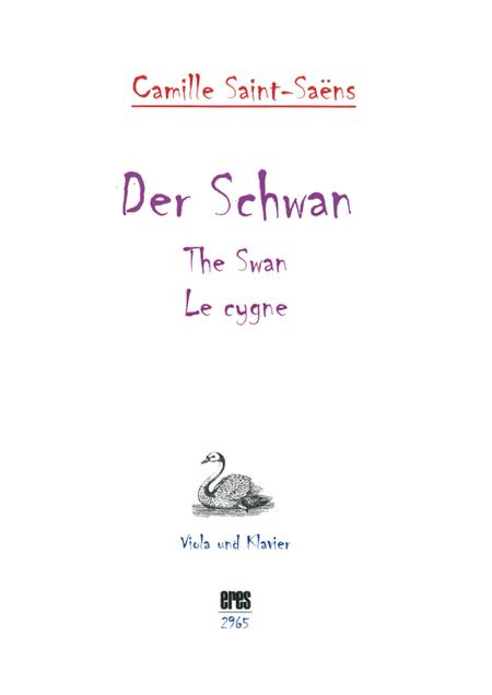 The Swan (viola, piano) 111